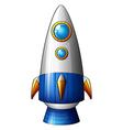 a deadly rocket vector image
