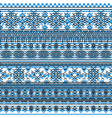ethnic seamless pattern vector image vector image