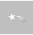 Meteor computer symbol vector image