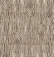 seamless pattern ropes with marine knots vector image