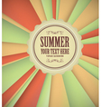 Vintage Summer Background