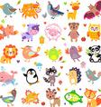 AnimalsBigTwo vector image