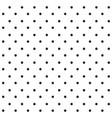 black seamless polka dots pattern vector image vector image