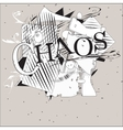 Chaos Background vector image vector image