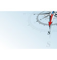 compass south background vector image vector image