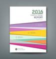 Cover report colorful pantone tiles design