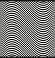 curved wavy lines seamless pattern texture vector image vector image