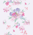 floral seamless background for your design vector image