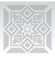 ornamental slavic dot pattern vector image vector image