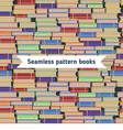 seamless books pattern vector image