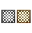 Set of chess boards vector image vector image