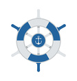 Ship Wheel Icon vector image