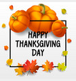 thanksgiving day concept background isometric vector image vector image