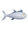 tuna fish icon cartoon style vector image
