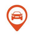 car logo design element bitcoin tablet circle vector image