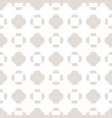 minimalist seamless pattern with smooth crosses vector image vector image