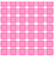 pink scotch pattern vector image