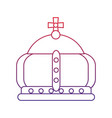royal crown icon image vector image vector image