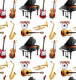 Seamless instrument vector image