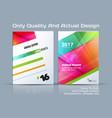 Set of business template brochure design