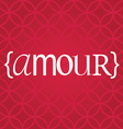 amour word