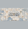 business card baroque rich vintage vector image vector image