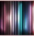 colorful and shiny stripes background vector image
