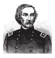 general gouverneur k warren vintage vector image vector image