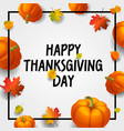 thanksgiving concept background isometric style vector image
