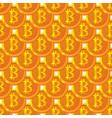 bitcoin paattern vector image vector image