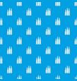 bullet ammunition pattern seamless blue vector image vector image
