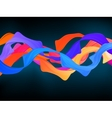 Dark colorful abstract background EPS 8 vector image