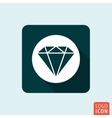 Diamond icon isolated vector image