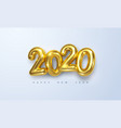 happy new 2020 year vector image