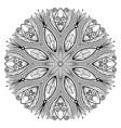 mandala 02 vector image vector image