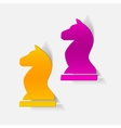 realistic design element chess vector image vector image