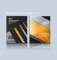 set of business template brochure design vector image vector image