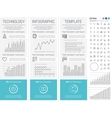 Technology Infographic Template vector image vector image