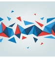 abstract texture with triangles vector image