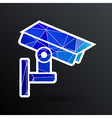 camera cctv icon sign graphic theft wireless vector image