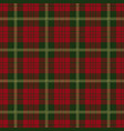 christmas tartan plaid seamless pattern vector image vector image