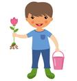 Cute Gardener vector image