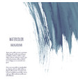 dark blue black grunge watercolor ink texture vector image vector image