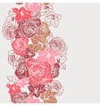 Elegance seamless wallpaper pattern with roses vector | Price: 1 Credit (USD $1)