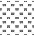 fm radio pattern seamless vector image vector image