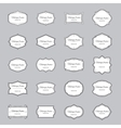 Frames set with text vector image vector image