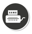 Game control design vector image vector image