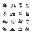 Investment Icon Set vector image vector image