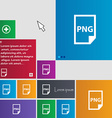 PNG Icon sign buttons Modern interface website vector image