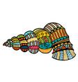 Sea Shell Icon vector image vector image